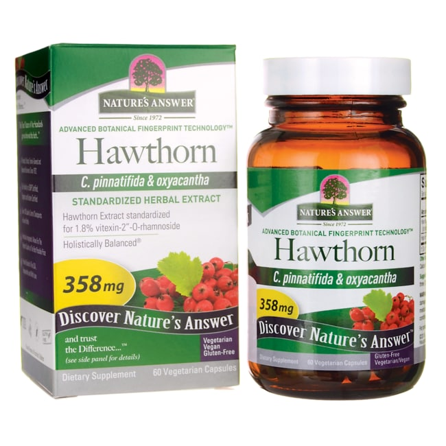 Nature's AnswerHawthorn Leaf Extract Standardized