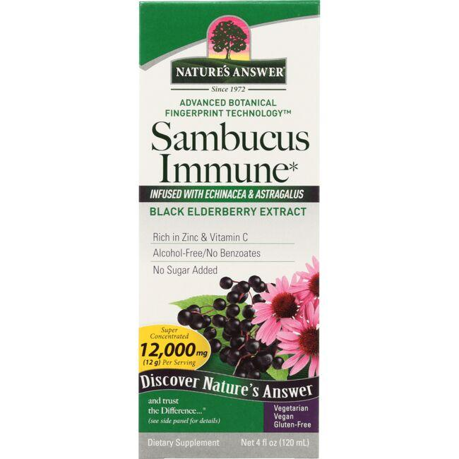 Nature's Answer Sambucus Immune Black Elderberry