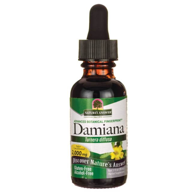 Nature's AnswerDamiana Leaf Alcohol Free