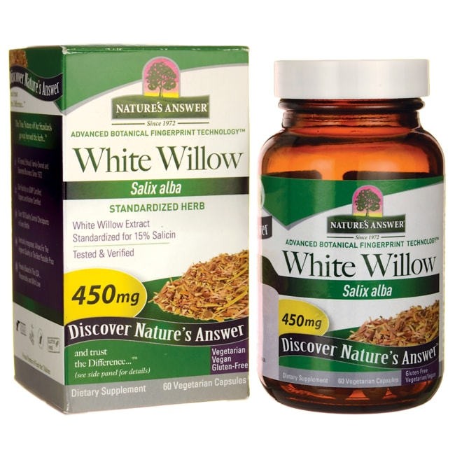 Nature's AnswerWhite Willow Standardized Herbal Extract