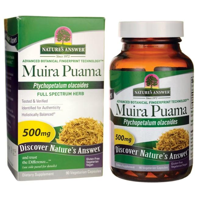 Nature's Answer Muira Puama Bark