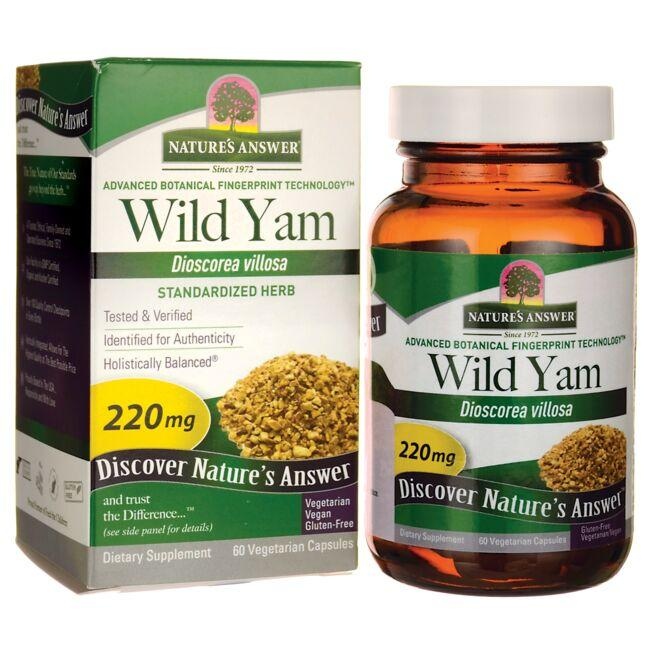 Nature's Answer Wild Yam