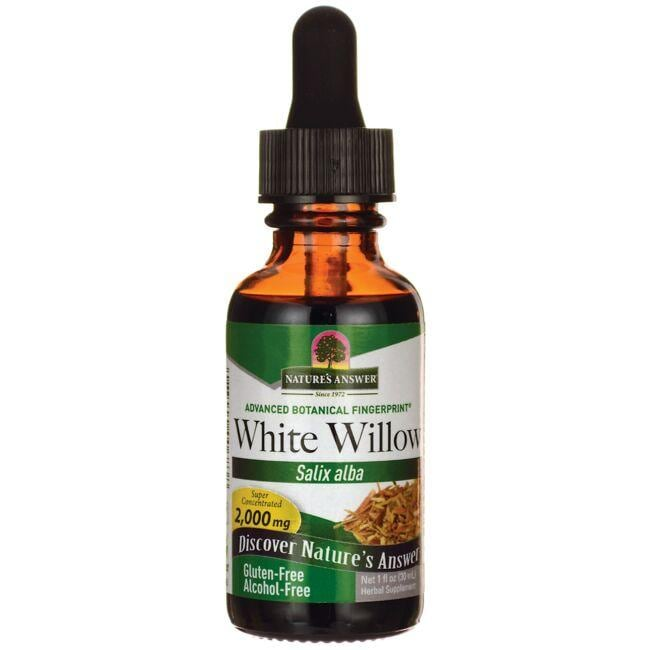 Nature's AnswerWhite Willow Alcohol Free