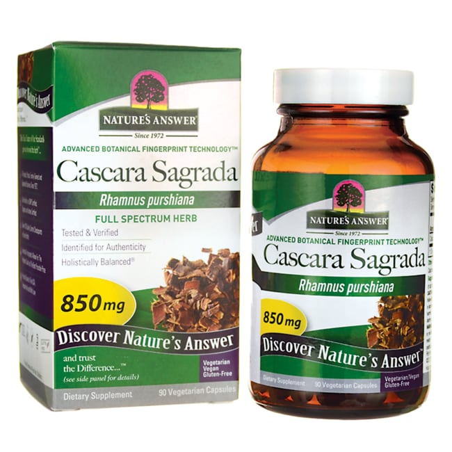Nature's AnswerCascara Sagrada Bark