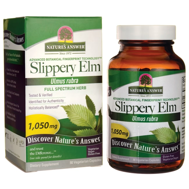 Nature's Answer Slippery Elm Bark