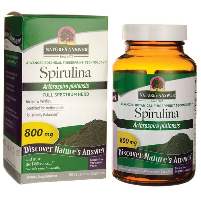 Nature's Answer Spirulina
