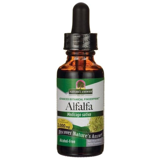 Nature's AnswerAlfalfa Herb Alcohol Free