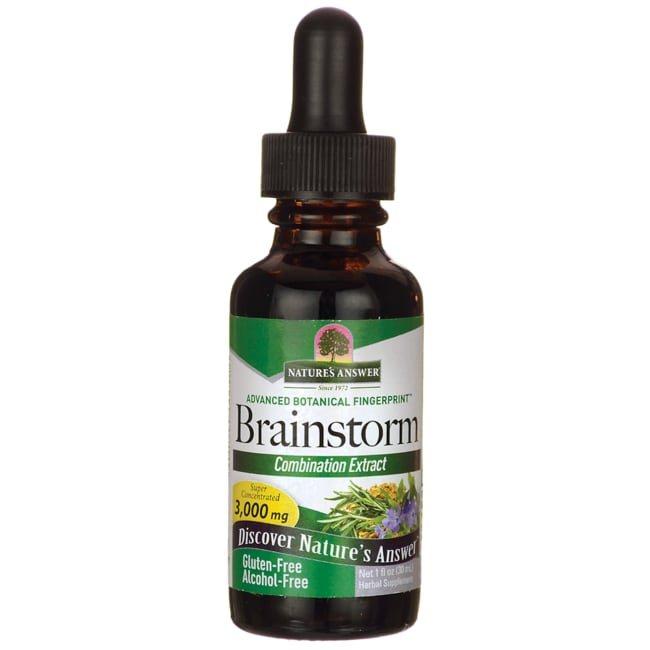 Nature's AnswerBrainstorm Alcohol Free
