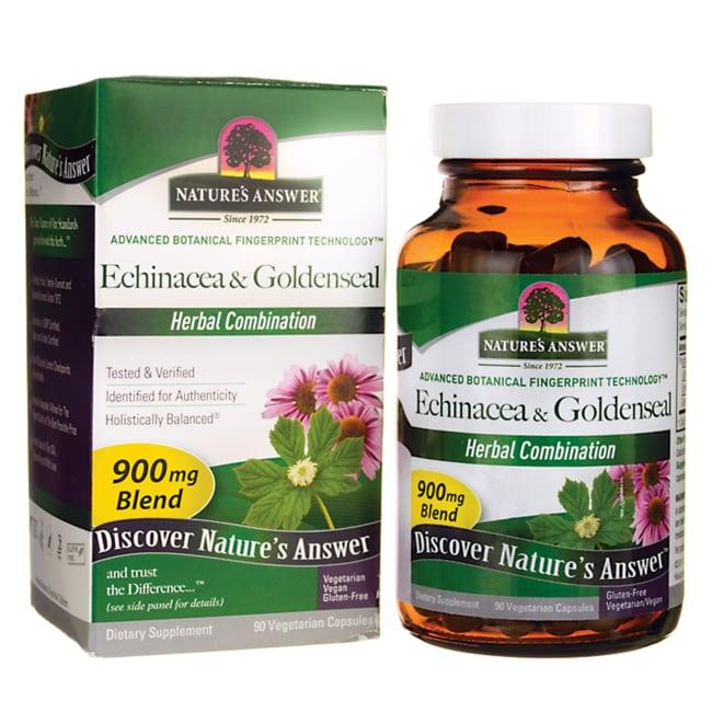 Nature's AnswerEchinacea & Goldenseal