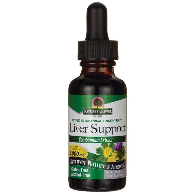 Nature's AnswerLiver Support - Combination Extract