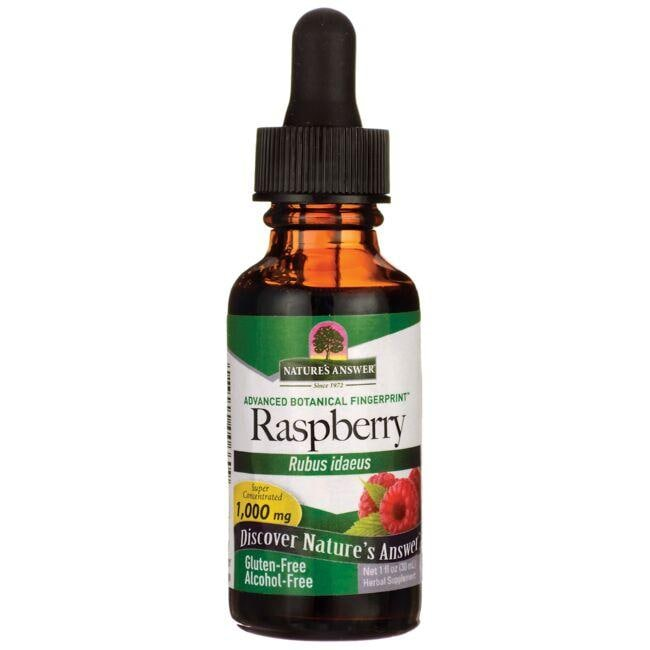 Nature's AnswerRaspberry Alcohol Free