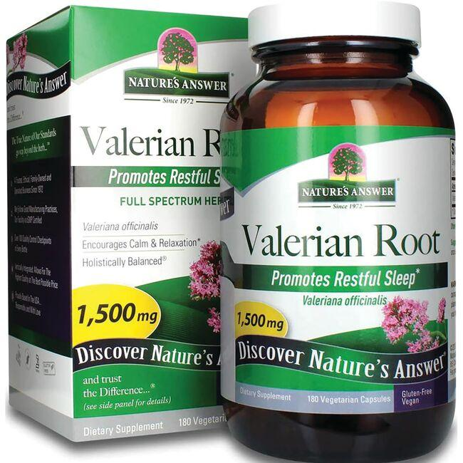 Nature's Answer Valerian Root