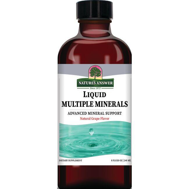 Nature's AnswerLiquid Multiple Minerals - Natural Grape