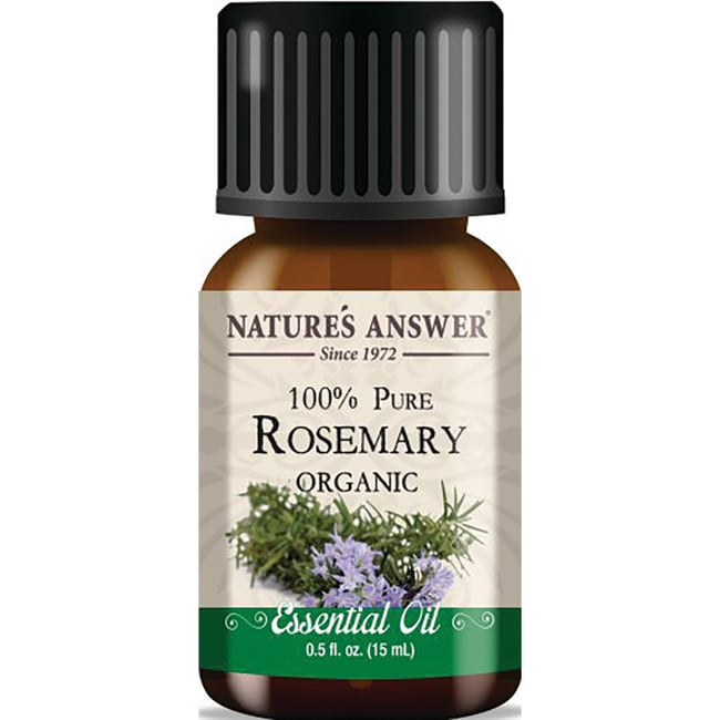 Nature's AnswerOrganic 100% Pure Rosemary Essential Oil