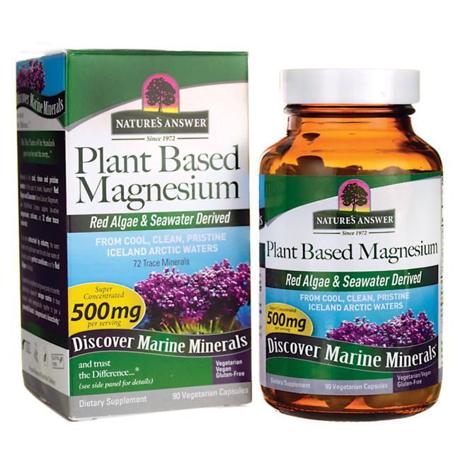 Nature's Answer Plant Based Magnesium