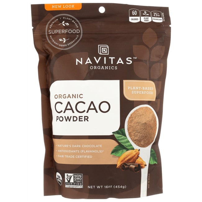 Navitas Naturals Chocolate Cacao Powder