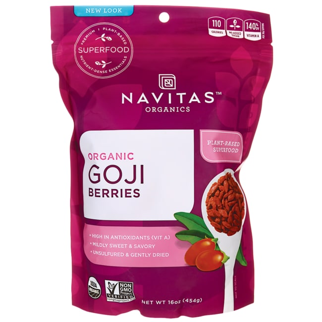 Navitas NaturalsSun-Dried Goji Berries