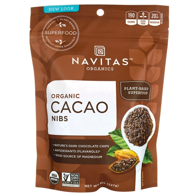 Navitas Naturals Raw Chocolate Cacao Nibs