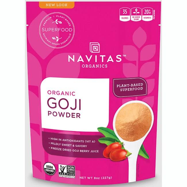 Navitas Naturals Freeze-Dried Goji Berry Powder