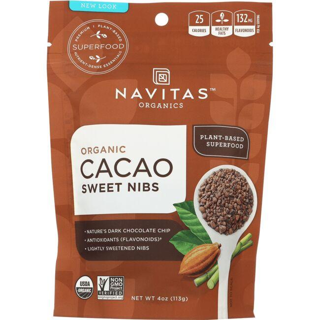 Navitas Naturals Organic Cacao Nibs Raw Chocolate