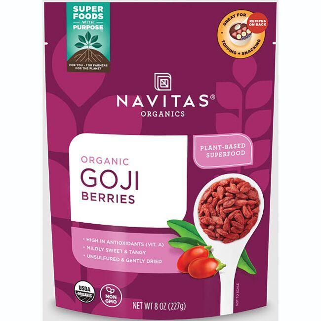 Navitas OrganicsSun-Dried Goji Berries