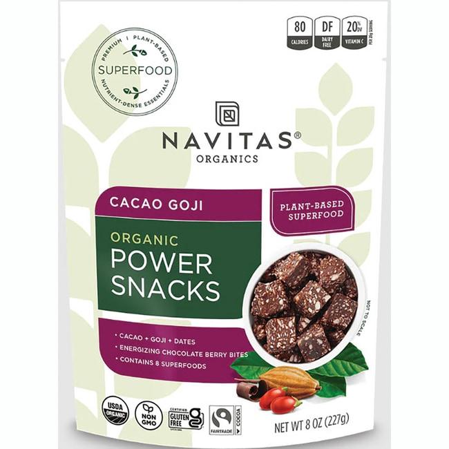 Navitas OrganicsCacao Goji Power Snacks