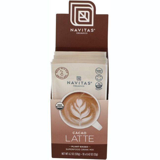 Navitas OrganicsCacao Latte Superfood Drink Mix