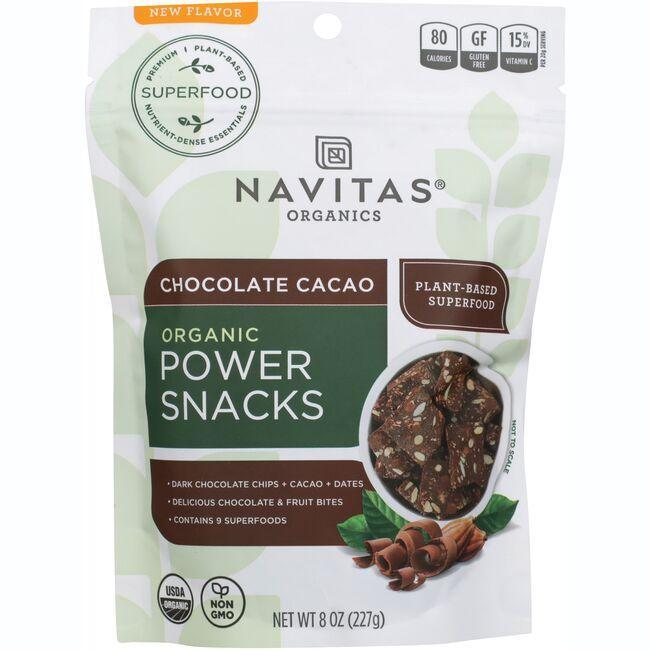 Navitas OrganicsOrganic Power Snacks - Chocolate Cacao