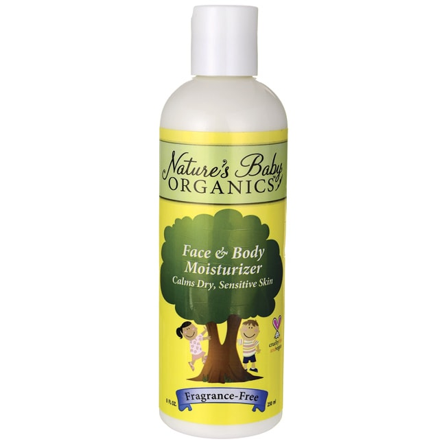 Nature's Baby OrganicsFace & Body Moisturizer Fragrance-Free