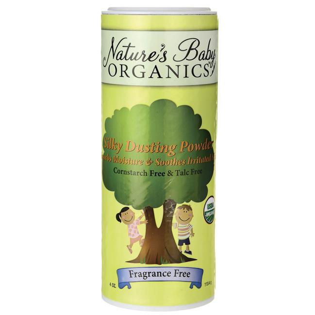 Nature's Baby OrganicsSilky Dusting Powder Fragrance Free
