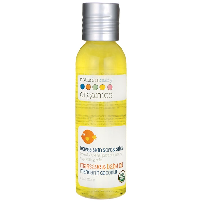 Nature's Baby OrganicsMassage & Baby Oil Mandarin Coconut