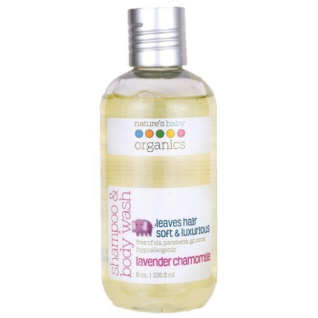 Nature's Baby OrganicsShampoo & Body Wash - Lavender Chamomile