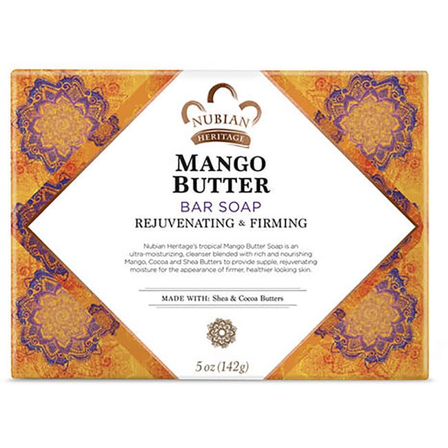 Nubian HeritageMango Butter Bar Soap