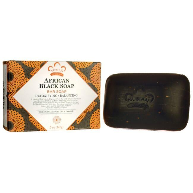 Nubian HeritageAfrican Black Soap Bar Soap