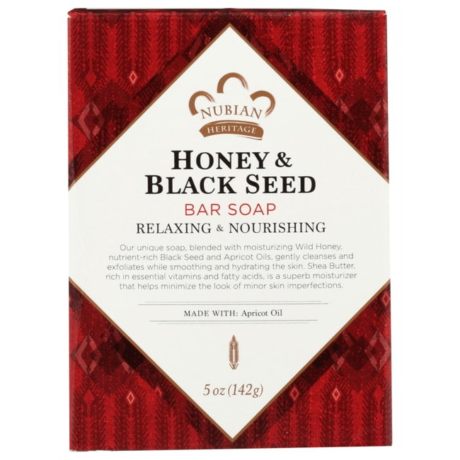 Nubian HeritageHoney & Black Seed Bar Soap