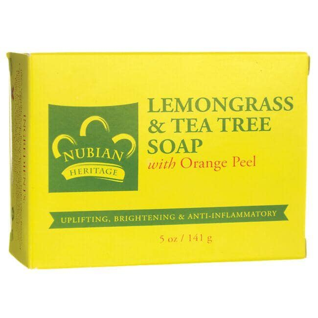 Nubian HeritageLemongrass & Tea Tree Bar Soap