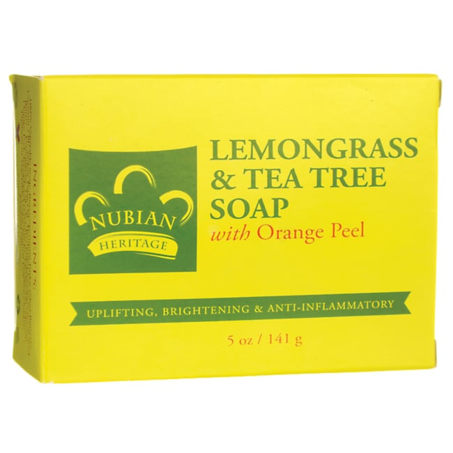 Nubian HeritageLemongrass & Tea Tree Bar Soap