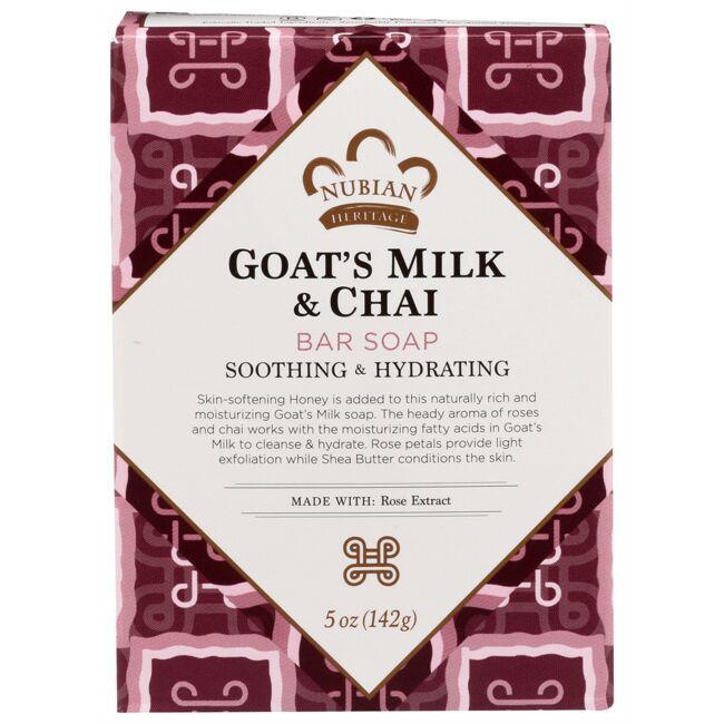 Nubian HeritageGoat's Milk & Chai Bar Soap