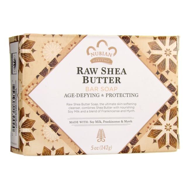 Nubian Heritage Raw Shea Butter Bar Soap