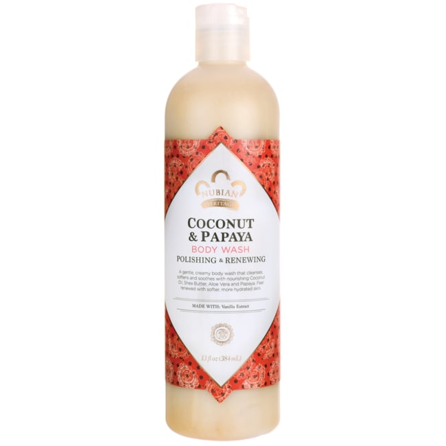 Nubian HeritageCoconut & Papaya Body Wash