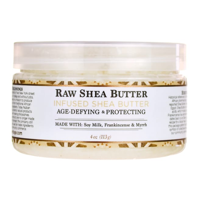 Nubian HeritageRaw Shea Butter Infused With Frankincense & Myrrh