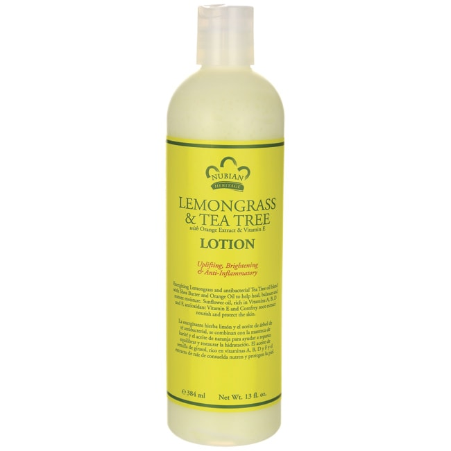 Nubian HeritageLemongrass & Tea Tree Lotion