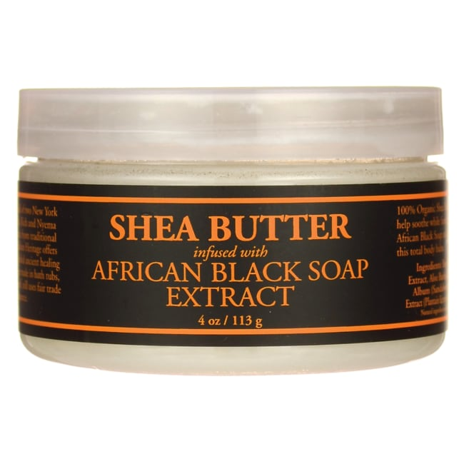 Nubian HeritageShea Butter Infused with Oats & Aloe Black Soap Extract
