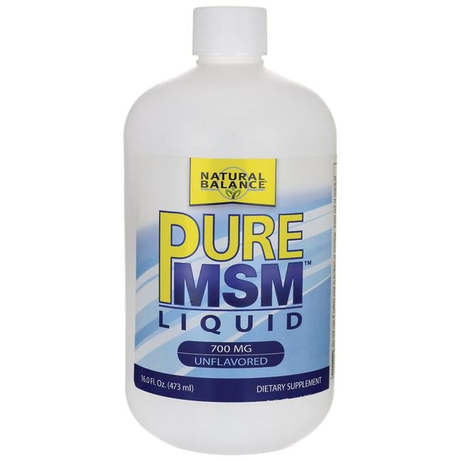 Natural Balance Pure MSM Liquid - Unflavored