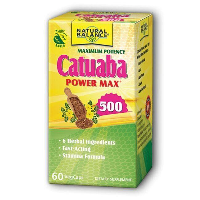 Natural BalanceMaximum Potency Catuaba Power Max 500