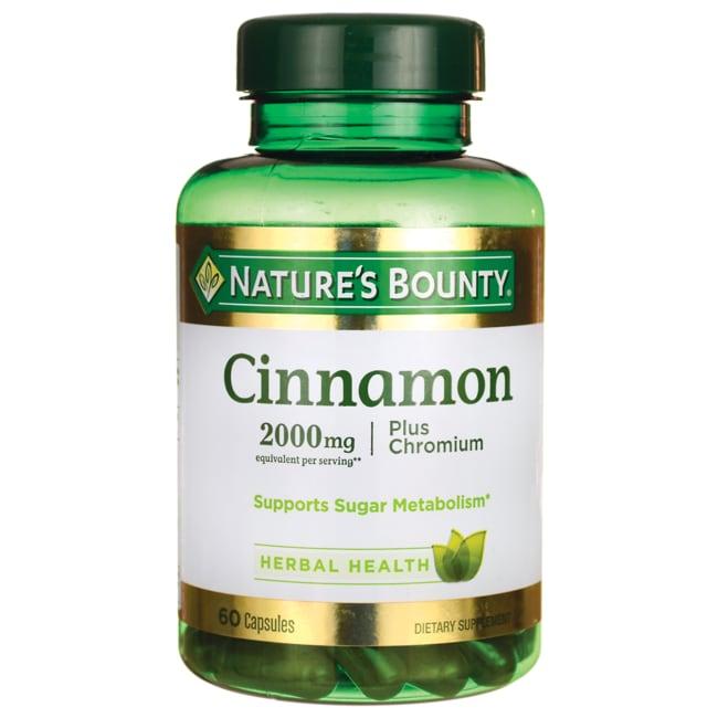 Nature's BountyHigh Potency Cinnamon Plus Chromium