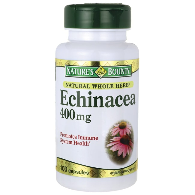Nature's BountyNatural Whole Herb Echinacea