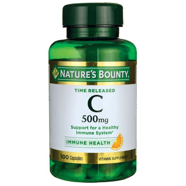 Nature's BountyTime Released Vitamin C