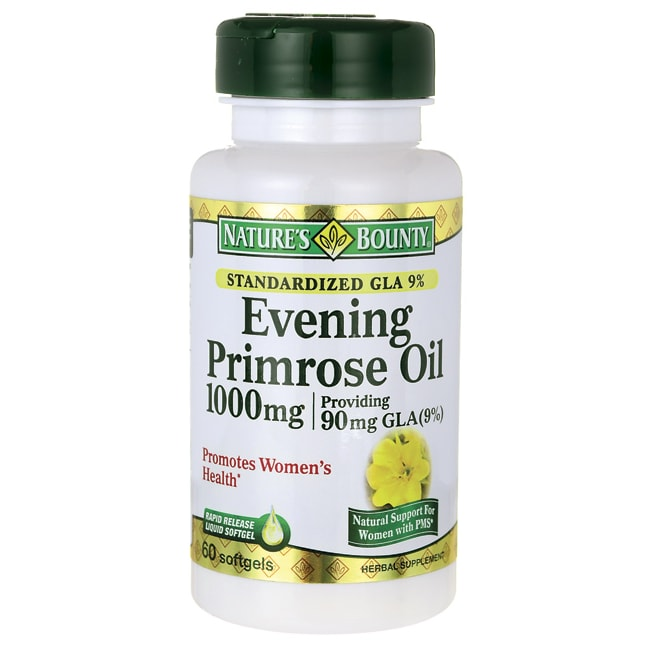 Nature's BountyStandardized GLA 9% Evening Primrose Oil