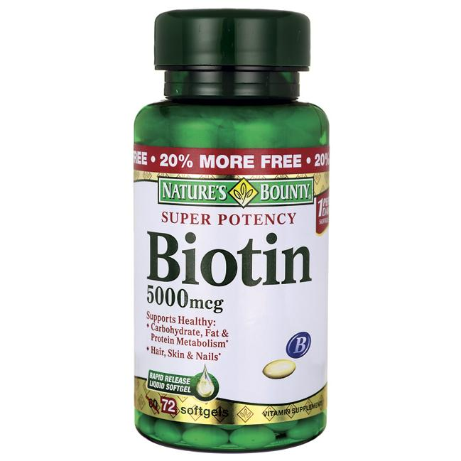 Nature's BountySuper Potency Biotin
